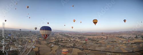 Fototapety, obrazy: Hot air balloons in Cappadocia
