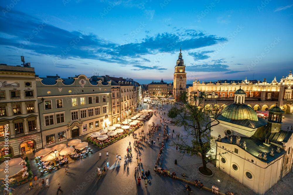 Obraz Krakow, Poland fototapeta, plakat