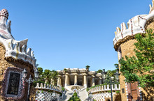 Entrance To The Guell Park Bui...
