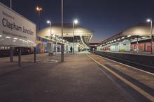 Clapham Junction Train Platform