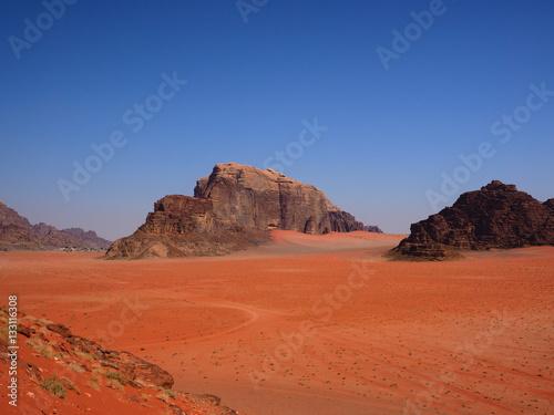 Foto op Canvas Baksteen Wudi Rum,Aquaba,Jordan
