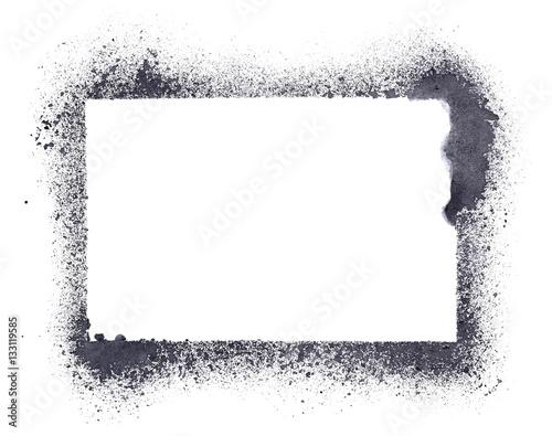 Grunge stencil frame - 133119585
