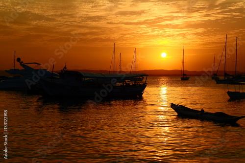 Fotografie, Obraz  Bahia's Sunset, Brazil
