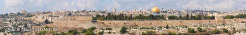 Jerusalem old city panorama,Israel