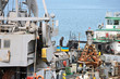 Scoop of cargo crane