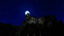 Mount Rushmore At Night, Timel...