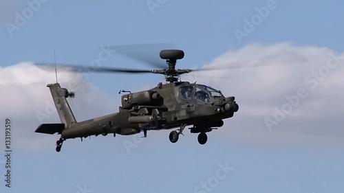Türaufkleber Hubschrauber Apache,USA