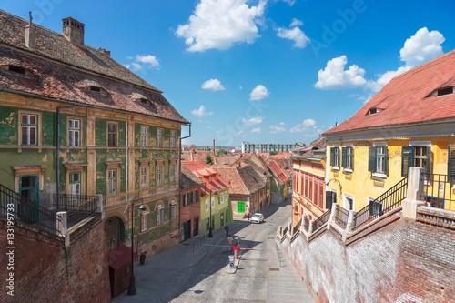 Papiers peints Europe de l Est The City of Sibiu in Romania