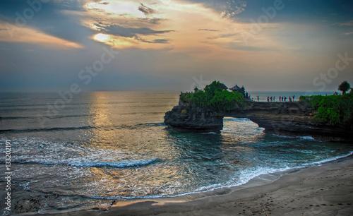 Foto op Plexiglas Indonesië Tanah Lot temple (Bali, Indonesia)
