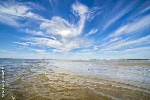 Spoed Foto op Canvas Noordzee Wolkenspiele über der Nordsee