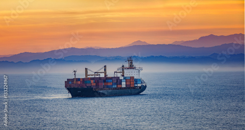 Ocean Barge - Buy this stock photo and explore similar