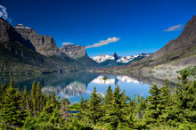 St Mary Lake, Glacier National...