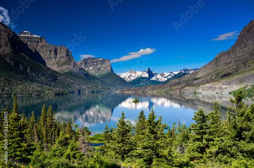 Fotografia, Obraz  St Mary Lake, Glacier National Park