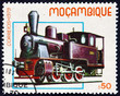 Postage stamp Mozambique 1979 Steam Locomotive