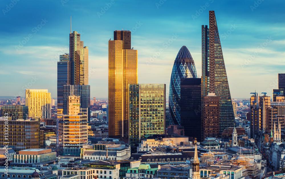 Fototapeta Londyn, UK - obraz na płótnie