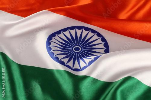 Plakat Zbliżenie Krajowa indianin flaga - Tricolor