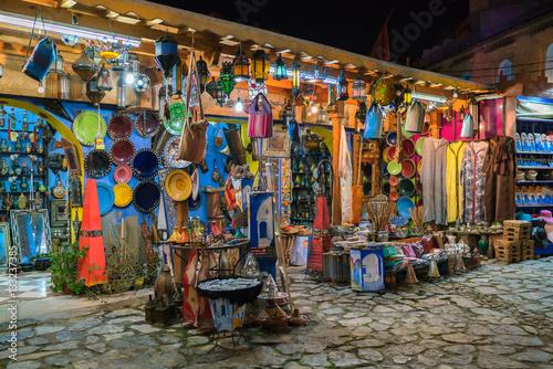 Foto op Canvas Marokko morocco market