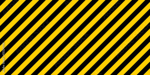 warning striped rectangular background Canvas