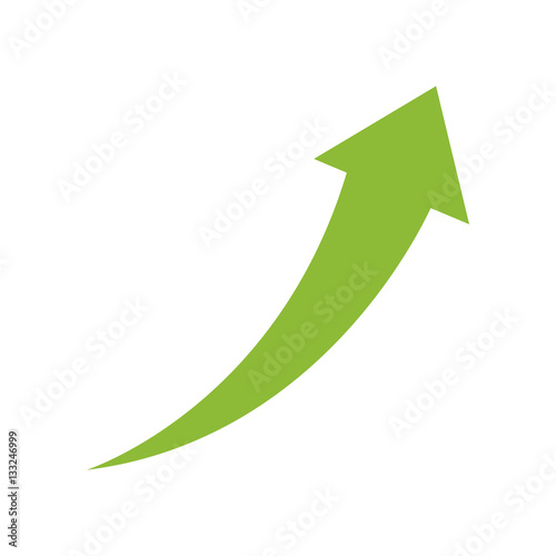 Obraz Success arrow up icon vector illustration graphic design - fototapety do salonu
