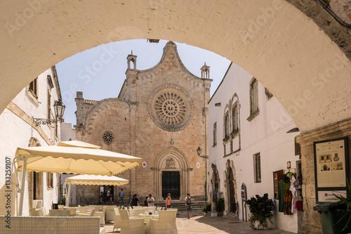 Edifice religieux Cathedral in Ostuni, Puglia Italy.