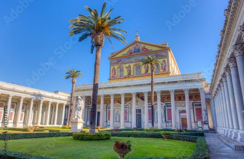 Fotografía  Basilica of St. Paul outside the Walls, Rome, Italy