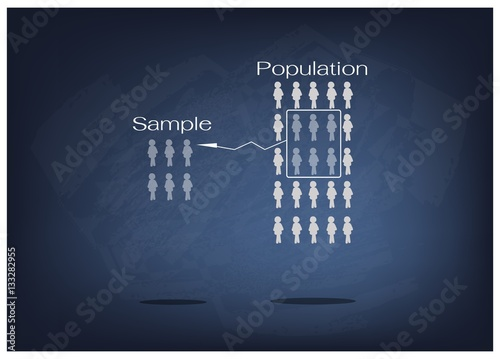 Photo  Research Process Sampling from A Target Population