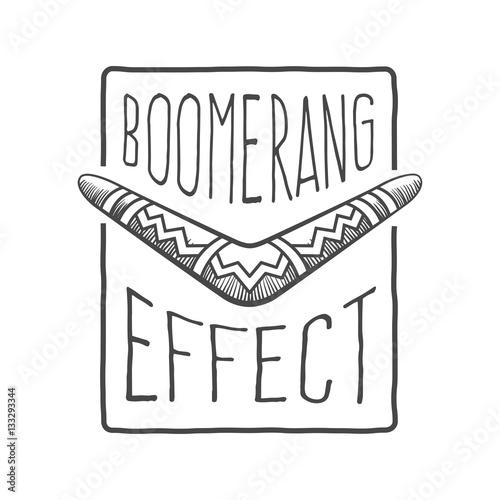 фотография  boomerang effect