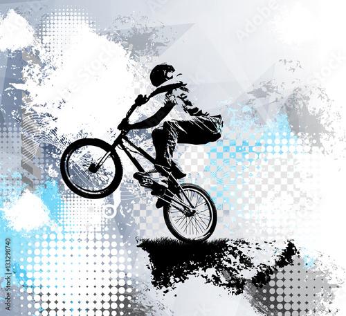 Fototapeta sportowy rower