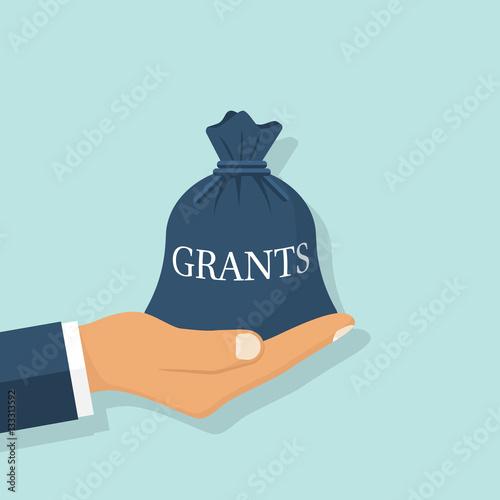 Fotografía  Grant funding, business concept