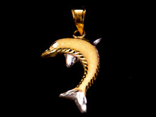 Dolphin Gold Pendant