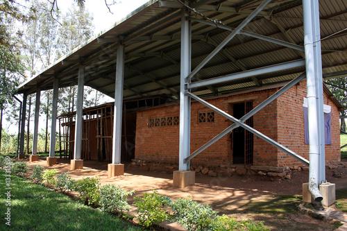 Fotografia  Ntarama Church turned into genocide memorial, Kigali District, Rwanda, East Afri