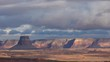 Winter Stratocumulus Clouds in Arizona Desert