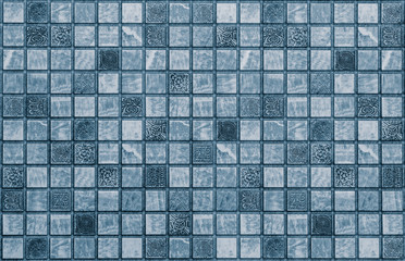 Panel Szklany Mozaika abstract mosaic texture tiles
