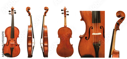 Fotomural European violin antiques