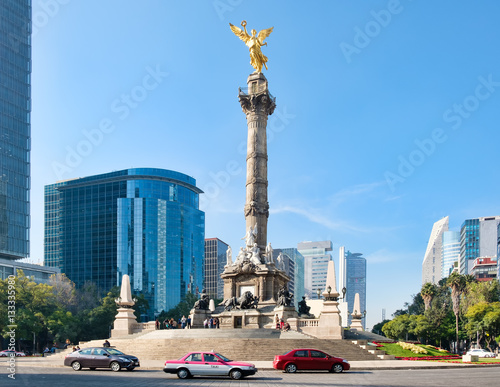 The Angel of Independence in Mexico City