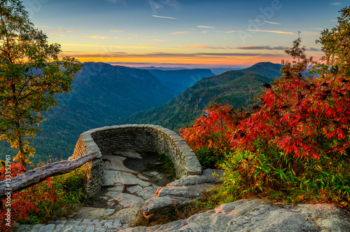 Photo  Wiseman view, Blue Ridge Mountains, North Carolina