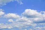 Fototapeta Na sufit - blue sky background with cloud in nature beautiful