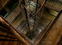 Elevator Inside Of Prague Astr...