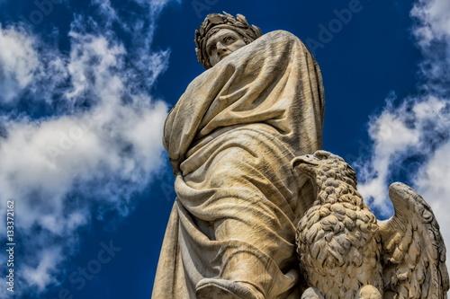 Zdjęcie XXL Florencja, pomnik Dantego