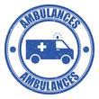 Logo ambulances.