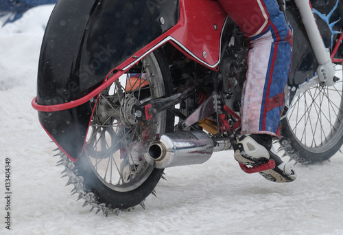 Fotografía  Competitions in ice Speedway