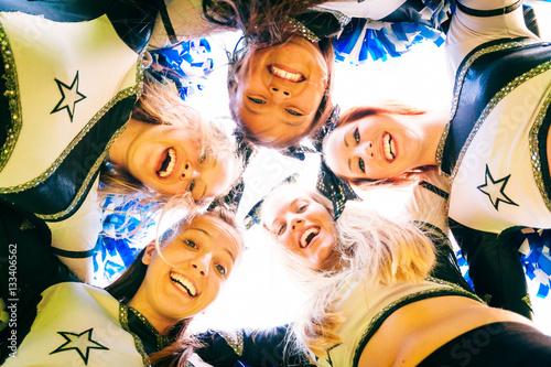 Cheerleading Team Fototapet
