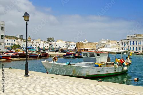 Deurstickers Tunesië Bizerte, Tunisia