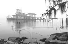 Wreck In Fog