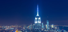 View Of New York Manhattan Dur...