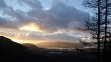 Winter Sunset Fort William