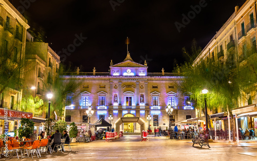 Town hall of Tarragona, Spain