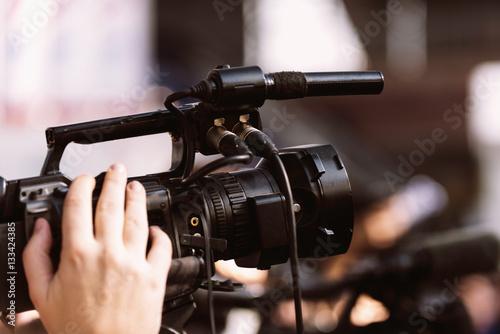 Camera at press conference #133424385