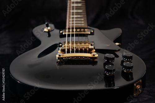 Close up of electric guitar Fototapeta