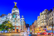 canvas print picture - Madrid, Spain.